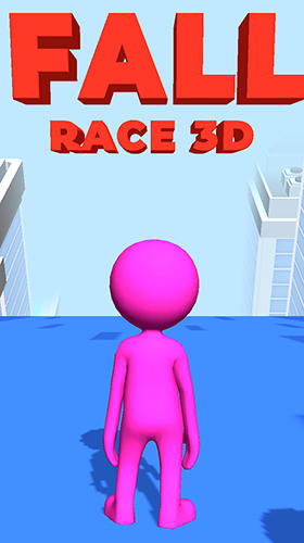 Fall race 3D captura de pantalla 1