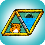 Hasty hamster and the sunken pyramid: A water puzzle Symbol