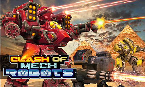Clash of mech robots icon