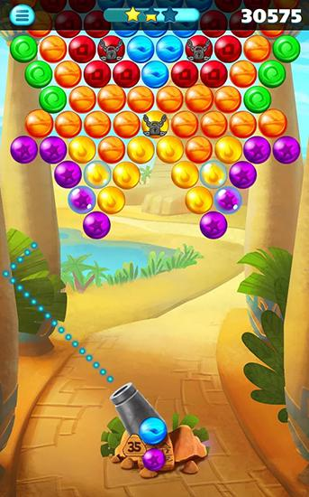 Egypt pop bubble shooter para Android