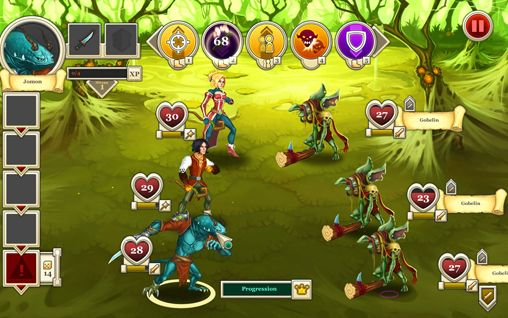 Heroes & legends: Conquerors of Kolhar for iPhone for free