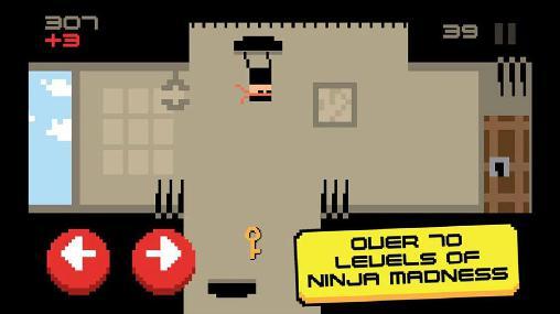 Pixel Ninja madness auf Deutsch