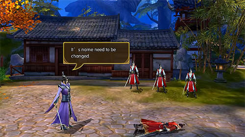 Online RPG Legend of wuxia: 3D MMORPG auf Deutsch