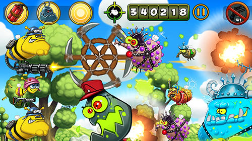 Battle buzz: The great honey war для Android