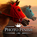 Photo finish: Horse racing icône
