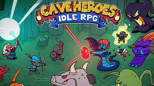 Cave heroes: Idle RPG скриншот 1