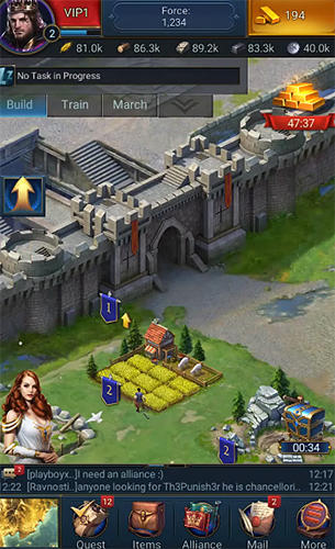 Storm on empires para Android