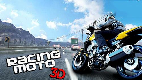 Racing moto 3D captura de pantalla 1