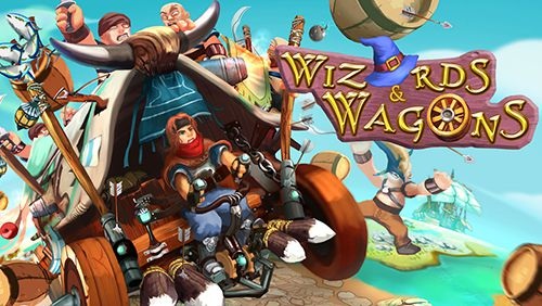 logo Wizards and wagons