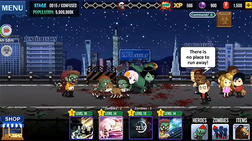 Zombie corps: Idle RPG für Android