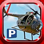 Helicopter rescue pilot 3D Symbol