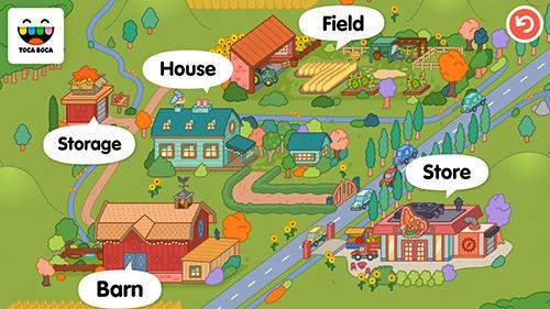 Toca life: Farm скриншот 1