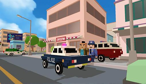 Simulation Blocky city: Ultimate police für das Smartphone