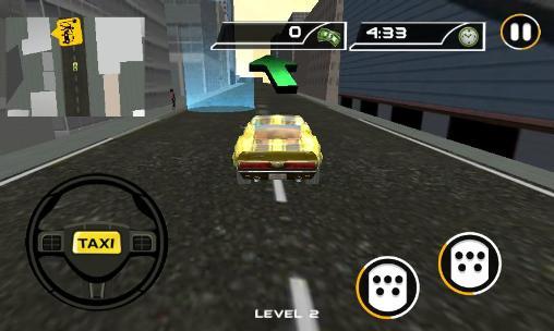 Crazy taxi driver: Rush cabbie screenshots