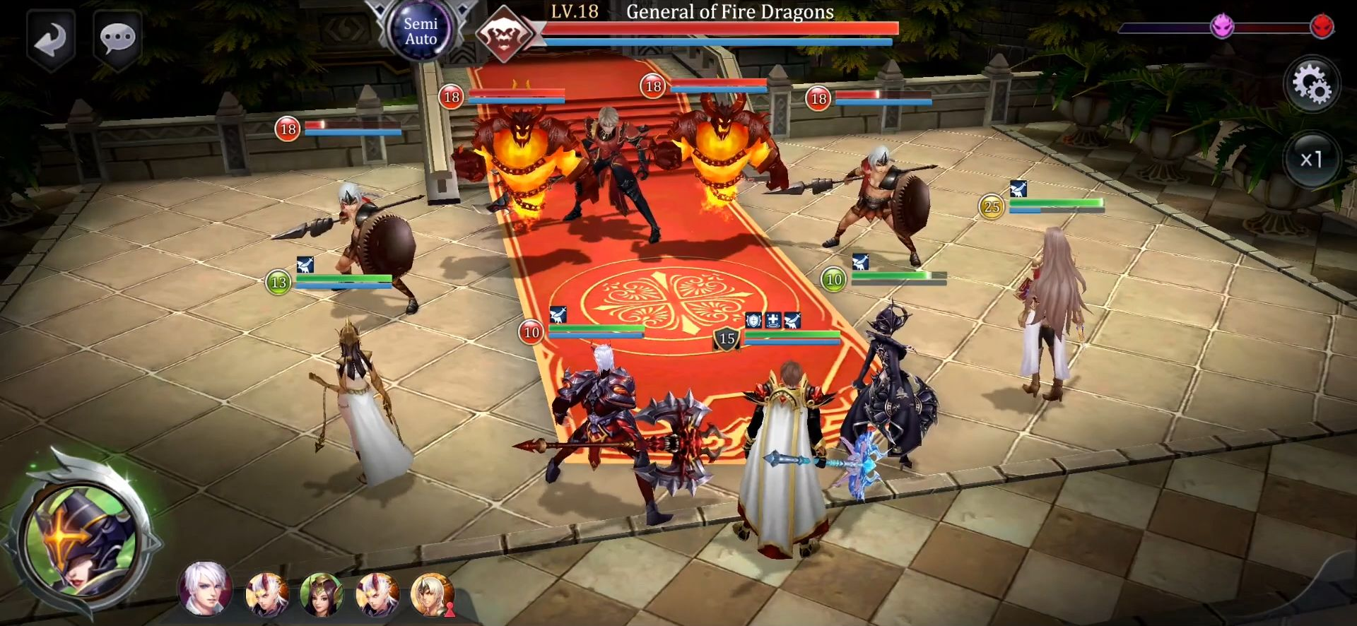 Summoners Glory: Eternal Fire für Android