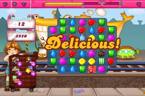 Screenshot Erstaunliche Süßigkeiten Manie auf dem iPhone
