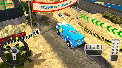 Course Monster truck XT airport derby pour smartphone