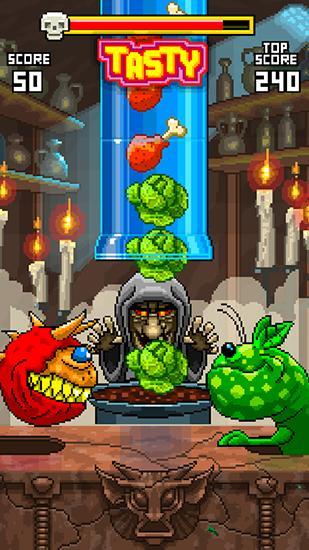Arcade-Spiele Monster feeder für das Smartphone