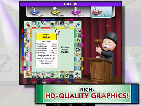 Captura de pantalla Monopoly aquí y ahora: Edición mundial en iPhone