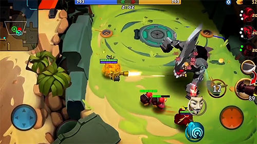 Wilds: Slice and dice. Wild league für Android