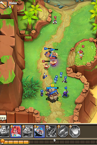 Cunning tribez: Road of clash für Android