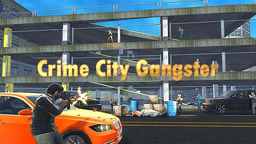 Crime city gangster icon