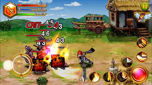 Blade of fire: Legend of warrior für Android