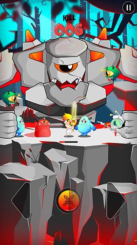 Ritter-Spiele League of champion: Knight vs monsters auf Deutsch