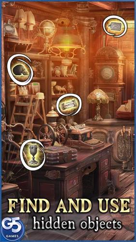 Abenteuer-Spiele Twin moons society: Hidden mystery für das Smartphone