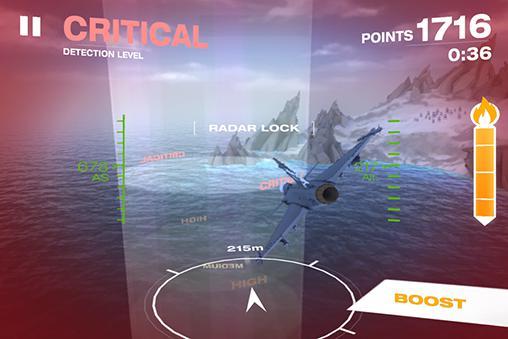 Arcade Gripen fighter challenge für das Smartphone