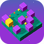 Slide cube! Symbol