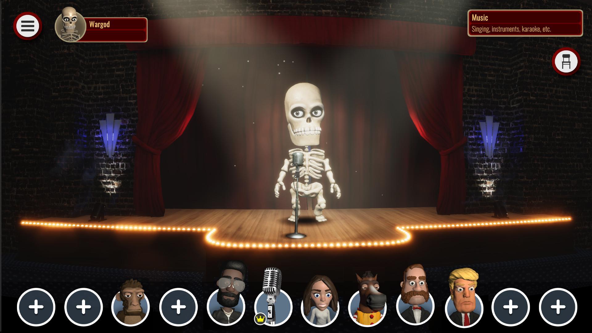 Comedy Night - The Game captura de tela 1