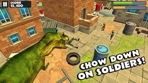 Actionspiele: Lade Jurassic Rampage auf dein Handy herunter