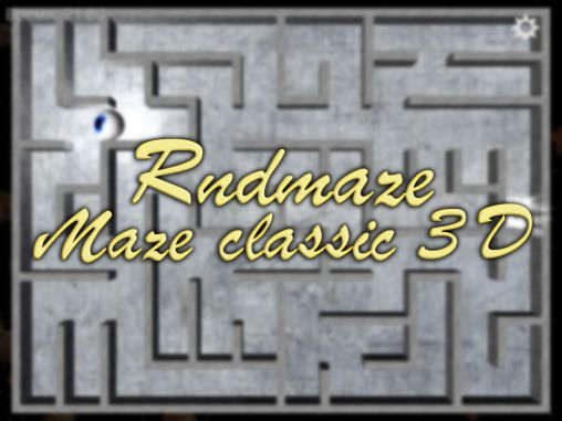 Rndmaze: Maze classic 3D скриншот 1
