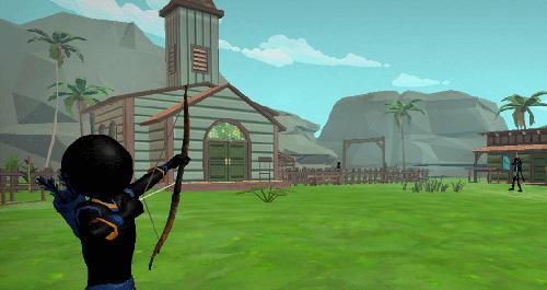 Stickman archery 2: Bow hunter für Android