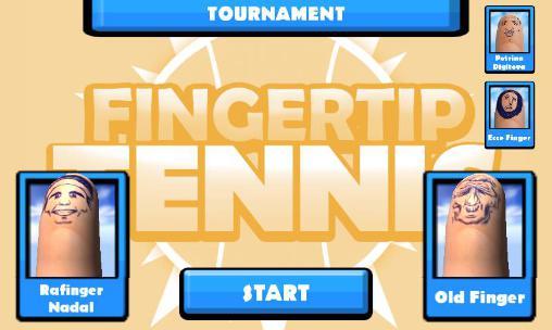 Tennis-Spiele Fingertip tennis auf Deutsch
