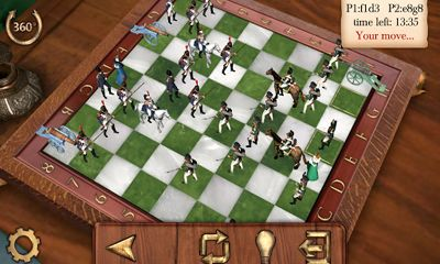 Скриншот Chess War: Borodino на андроид
