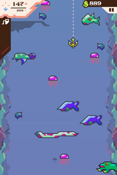 Arcade: Lade Lächerliches Fischen - Eine Geschichte der Erlösung auf dein Handy herunter