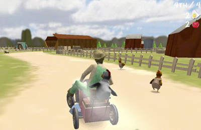 Racing games: download Lawn Mower Madness to your phone