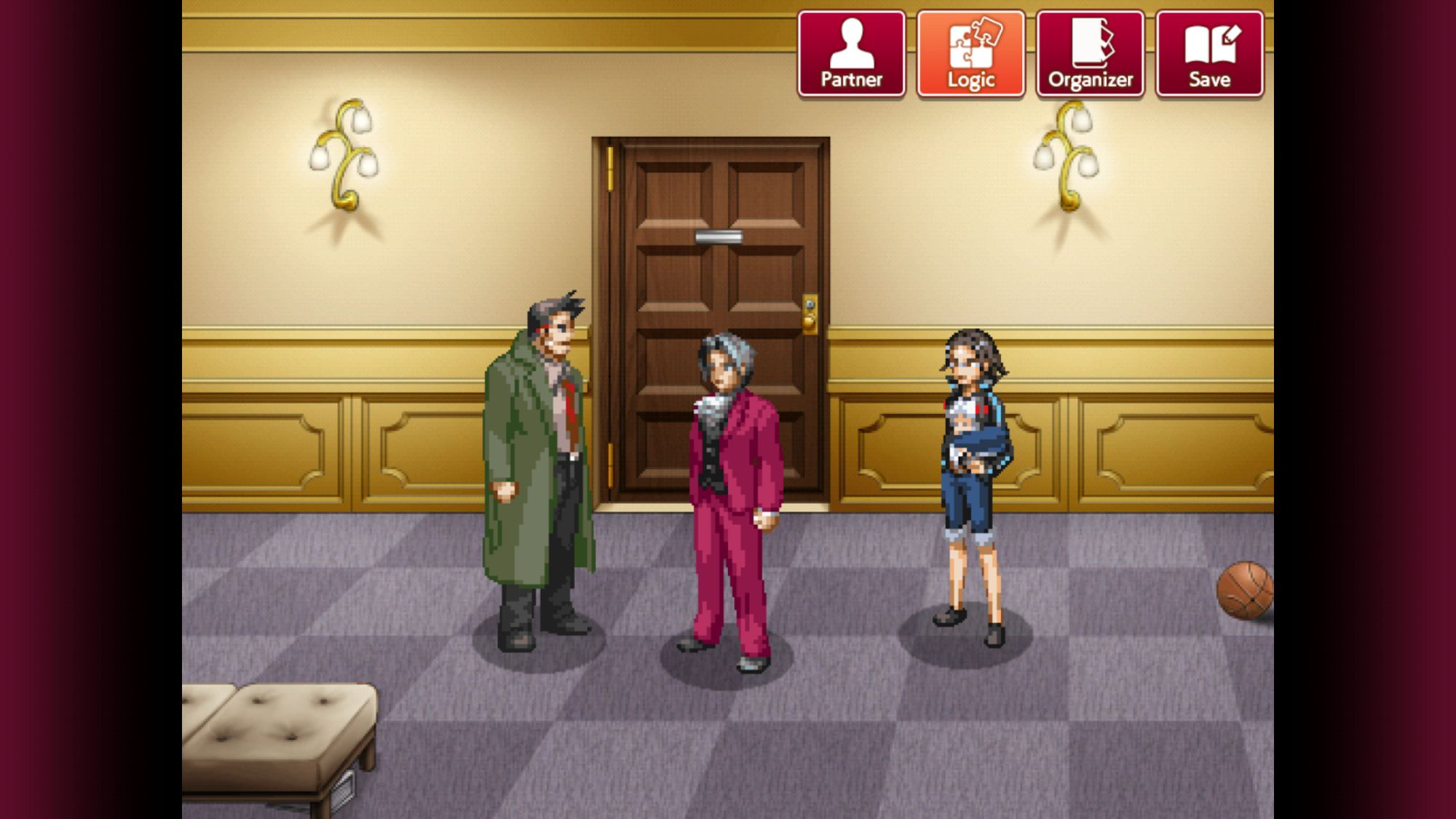 Ace Attorney Investigations - Miles Edgeworth для Android