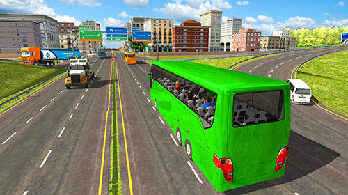 Bus simulator 2019 in English