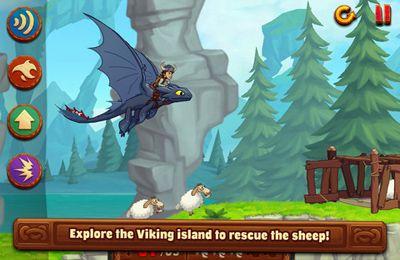 Экшен (Action) игры: скачать DreamWorks Dragons: Tap Dragon Drop на телефон