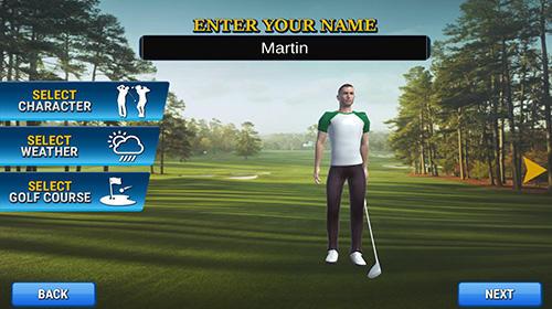 Sport Real golf master 3D für das Smartphone
