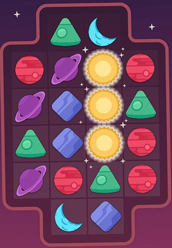 Três em linha Apollo: A puzzling space game em portugues