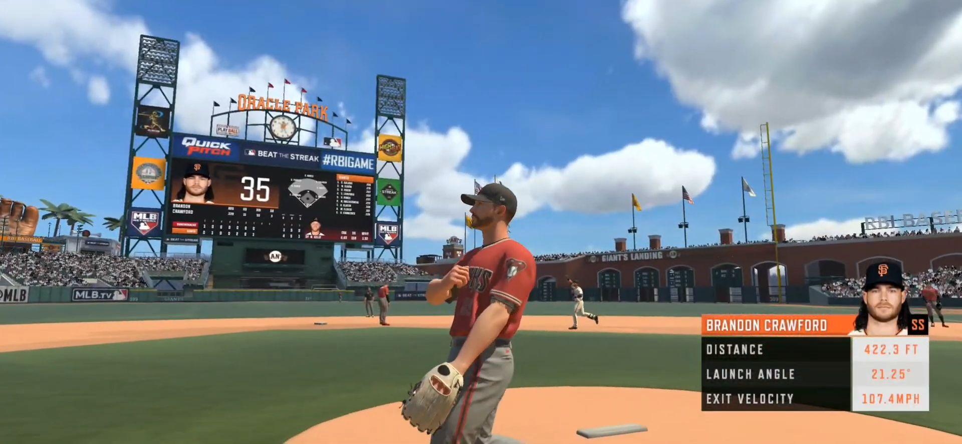 R.B.I. Baseball 20 スクリーンショット1