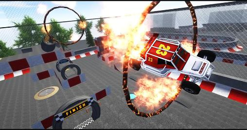 3D extreme stunt: Formula racer for Android