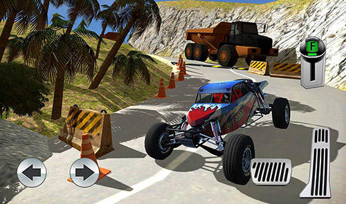 Parking island: Mountain road pour Android