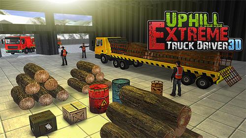 Uphill extreme truck driver 3D Screenshot
