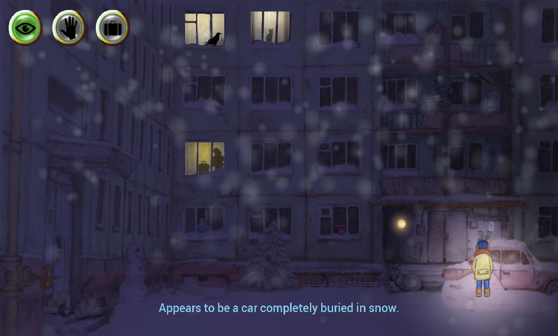 Winter Night Adventure capture d'écran 1