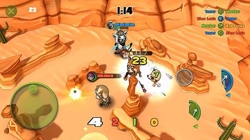 RPG-Spiele Fur fight für das Smartphone